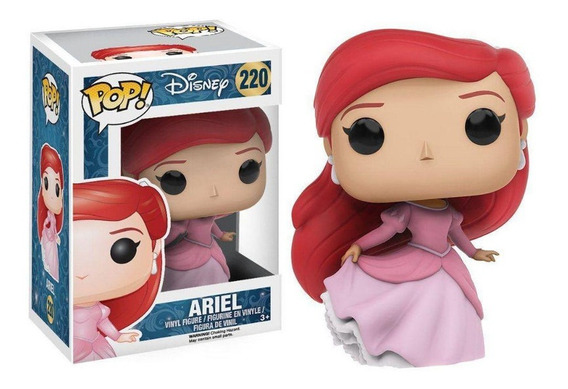Funko Pop! Disney Ariel Pequena Sereia 220