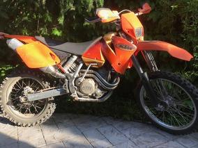 Ktm 400 Exc Racing - Ano 2002, En Excelente Estado.