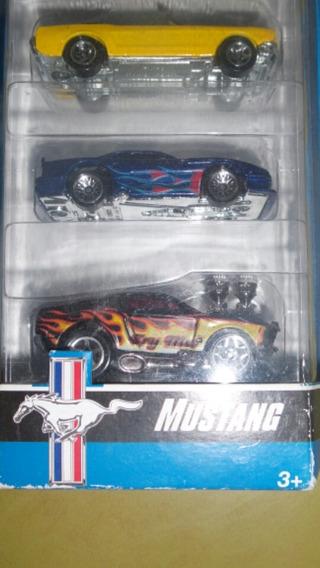Pack De 5 Hot Wheels Mustang