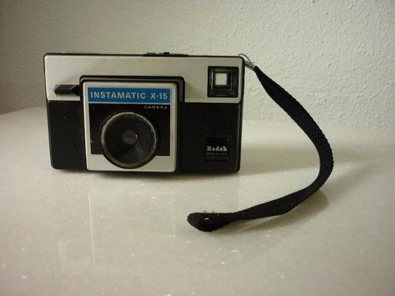 Antiga Câmera Kodak Instamatic X-15 Funcionando - Coleção