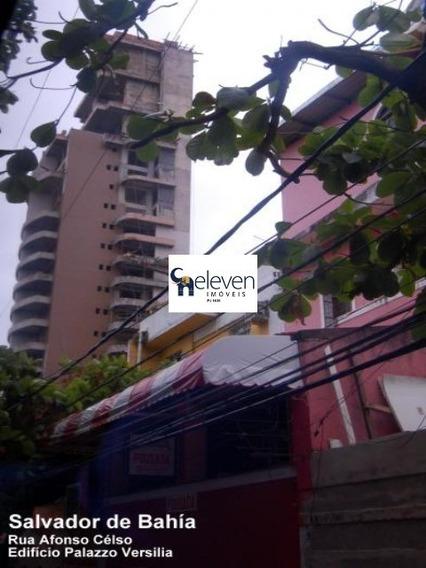 Apartamento Para Venda Barra, Salvador 1 Dormitório 1 Sala, 1 Banheiro, 1 Vaga 76,00 Útil Preço: R$ 500.000 - 50110 - 67862116