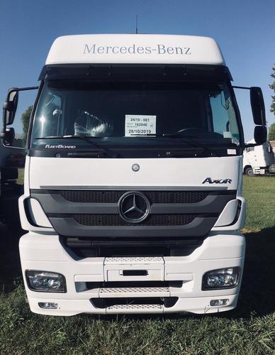 Mercedes-benz Axor 2544 Ls 31 6x2 55.5tn Patentado Besten La