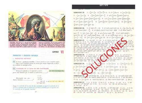 Algebra De Baldor Digital En Pdf Completo