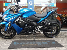Suzuki Gsx S1000f Abs 2017 Azul Único Dono