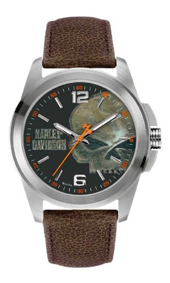 Relógio Bulova Harley Davidson Masculino Wh30519t