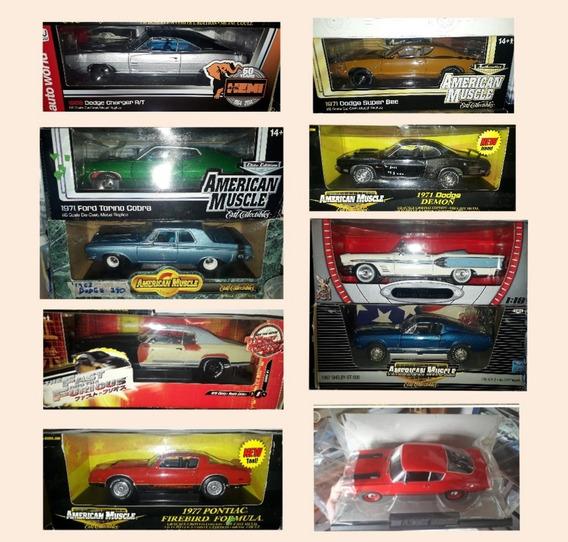 Carros De Colección A Esc 1/18. Ertl, Hotwheels, Maisto...