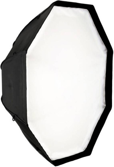 Softbox Universal Octabox 120cm P/ Flashes E Luz Continua