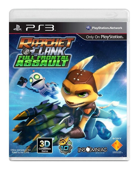 Ratchet Clank Full Frontal Assault - Ps3 - Usado - Original
