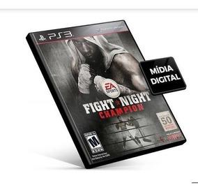 Fight Night Champion Ps3 Mídia Digital Psn Envio Rápido