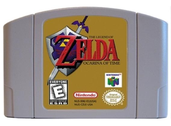 The Legend Of Zelda Ocarina Of Time Nintendo 64 N64 Novo