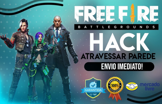 Hack Free Fire - Atravessar Parede (anti Ban)