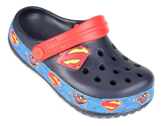 Crocs Kids Superman Clog K Original Lancamento