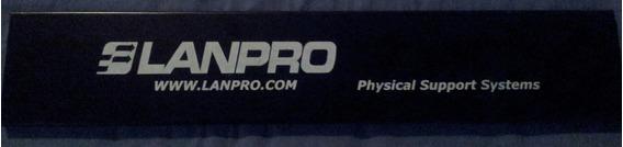 Organizador De Cables Metalico Lanpro