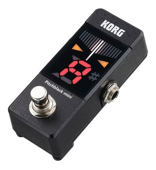 Pedal Afinador Korg P/ Guitarra/baixo - Pitchblack Pb Mini