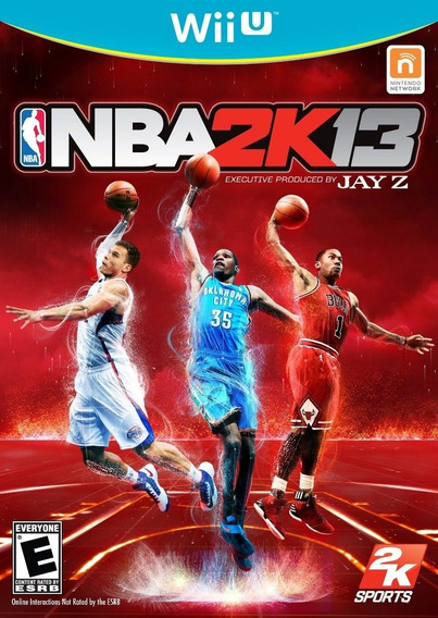 Jogo Nba 2k13 2013 Nintendo Wii U Original Mídia Física Game