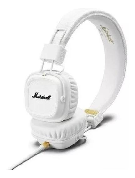 Fone De Ouvido Marshall Major Ii 04091113 Branco Com Nf