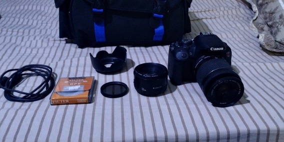 Canon T5i + 18-55 + 50mm