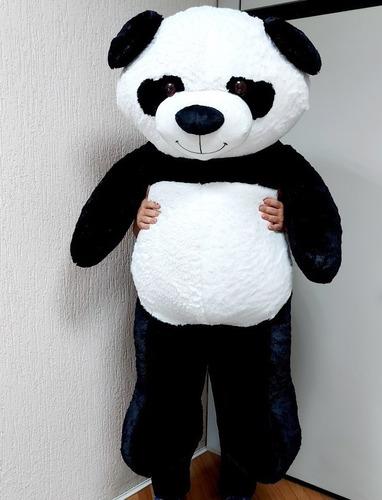 Imagem 1 de 1 de Ursinho Urso Pelúcia Panda 1,60 Mts 160cm Decoração Quarto