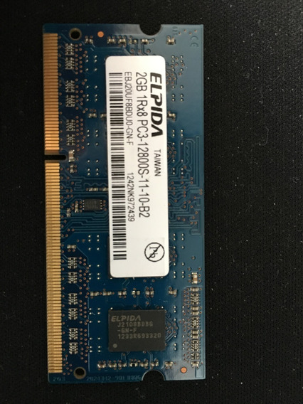 Memoria 2gb Pc3 Ddr3 Para Notebook Y Mac