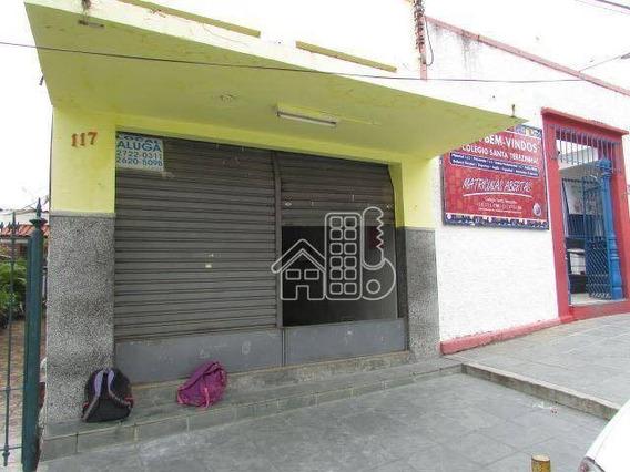 Loja Comercial Para Venda E Locação, Centro, São Gonçalo. - Lo0027