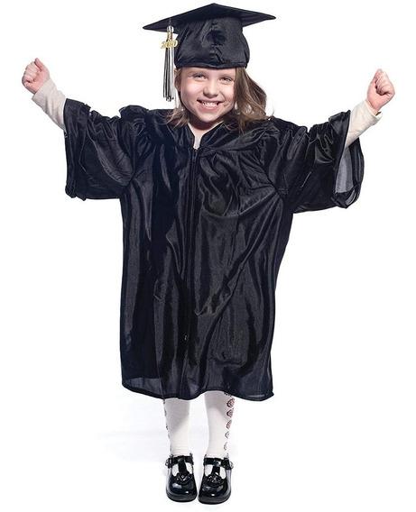 Preescolar Niños Graduación Traje De Bachelor Sombrero