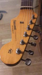 Guitarra Fernandes Año 84 Japón Con Mics Custom Shop Abigail