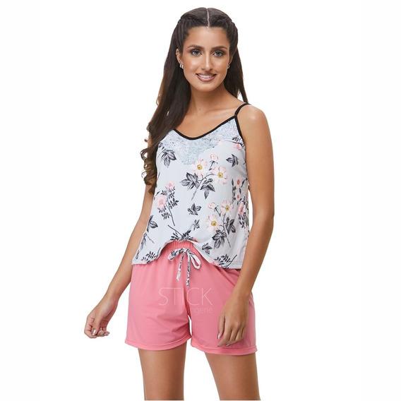 Pijama Liganete Estampado - Seco Floral