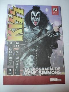 La Historia Completa De Kiss 2 Editorial Menhir