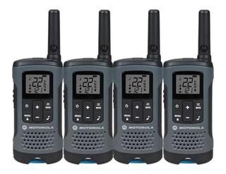 4 Radios Motorola 32km 20 Millas Puerto Micro Usb T200mc