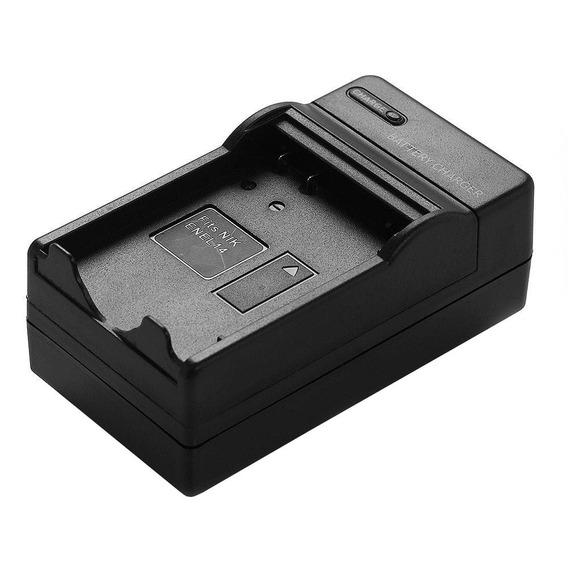 Carregador Bateria En-el14 P/ Nikon D3200 D5100 D5200 D3300