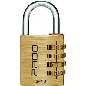 Cadeado Pado Com Segredo S-40mm Dourado