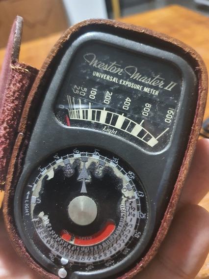 Fotômetro Antigo Westor Master 2 Mod 736 Usa 1950
