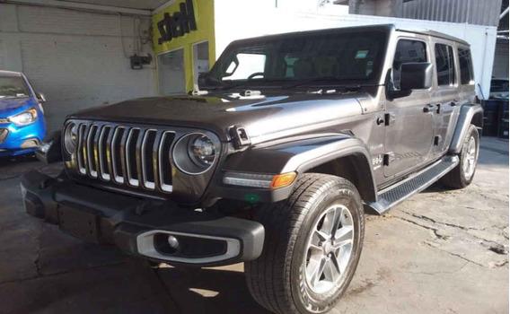 Jeep Wrangler 2019 5p Unlimited Jl Sahara V6/3.6 Aut