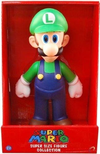 Super Mario Figura De Coleccion - Luigi   23cm