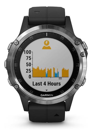 Reloj Smartwatch Garmin Fenix 5 Plus Negro Pulsometro Tienda