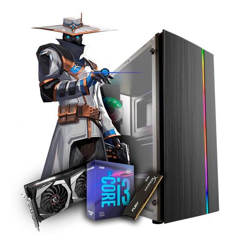 Pc Gamer Ninja I3 9100f, Geforce Gtx 1050ti 4gb, 8gb, Hd 1tb