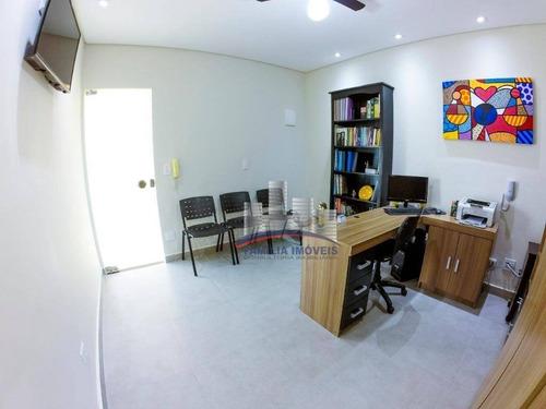 Imagem 1 de 9 de Sala À Venda, 30 M² Por R$ 130.000,00 - Jardim Primavera - Guarujá/sp - Sa0223