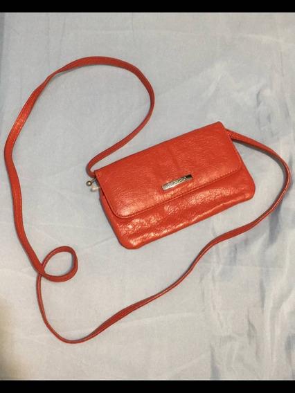 Bolsa Feminina Vintage Bagaggio Antiga Vermelha Pequena