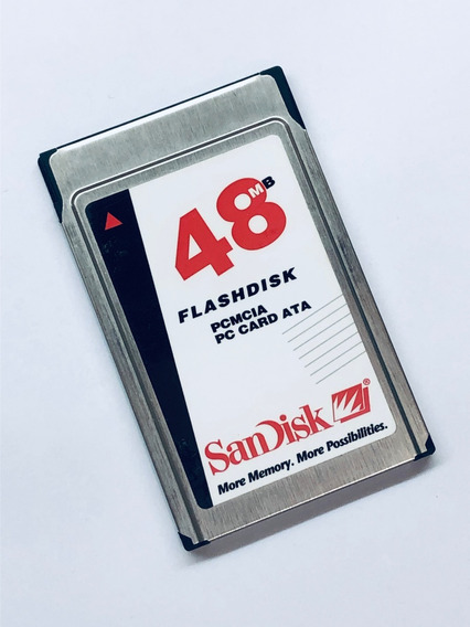 Cartão Flash Pcmcia 48mb Sandisk Viking