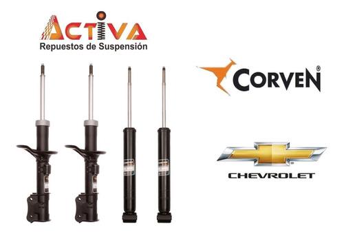 Kit 4 Amortiguadores Aveo G2 G3 Corven