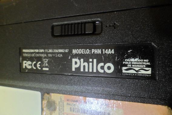 Notebook Philco Phn 14a4 Hdmi Carcaça Bateria Leitor Touch