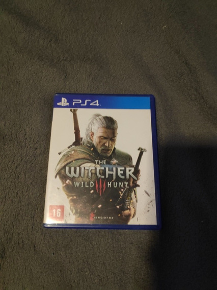 The Witcher 3: Wild Hunt - Ps4 Mídia Física