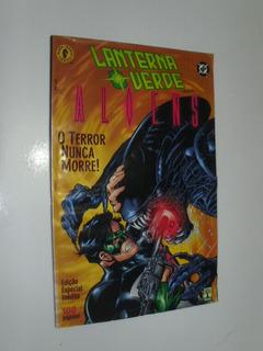 Hq Lanterna Verde Vs Aliens O Mal Nunca Morre! Ed Abril 2001