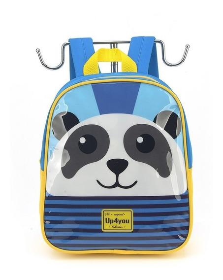Mochila Petit Up4you Panda - Luxcel Is32601up-az-c