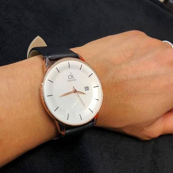 Relógio Calvin Klein Preto/marrom