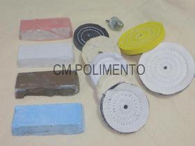 Kit 16 - Polimento Moto - Canal Kle Gdc - Cm Polimento