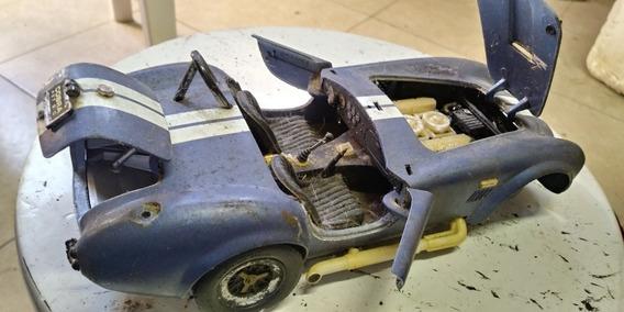 Miniatura 1/18 Shelby Cobra No Estado Para Retirada De Peças