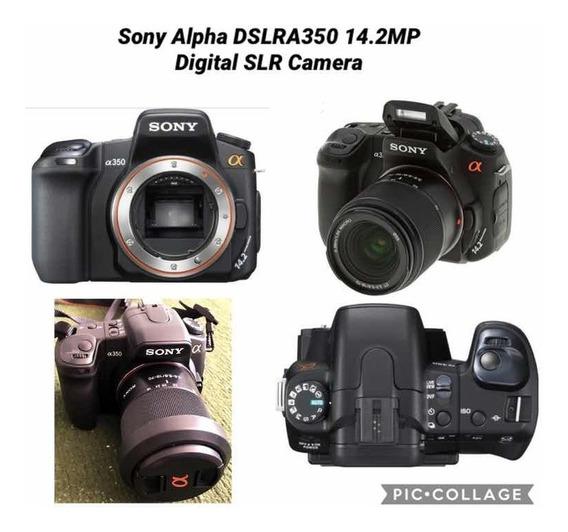 Câmera Profissional Sony Alpha Dslr-a350 14.2mp