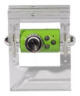 Webcam Kanji Kj-338 Usb 2.0 Boton Captura 80cm De Cable