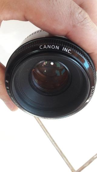 Lente Canon Ef 50mm F/1.8 Ii
